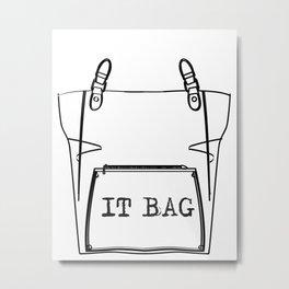 It bag Metal Print