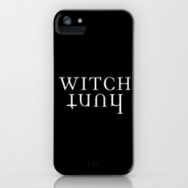 witch hunt iPhone Case