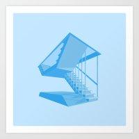 St. John's Stairs Art Print