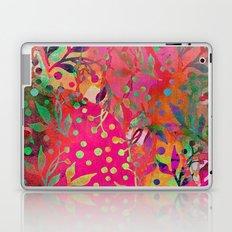 Tropical Summer colorful botanical pattern Laptop & iPad Skin