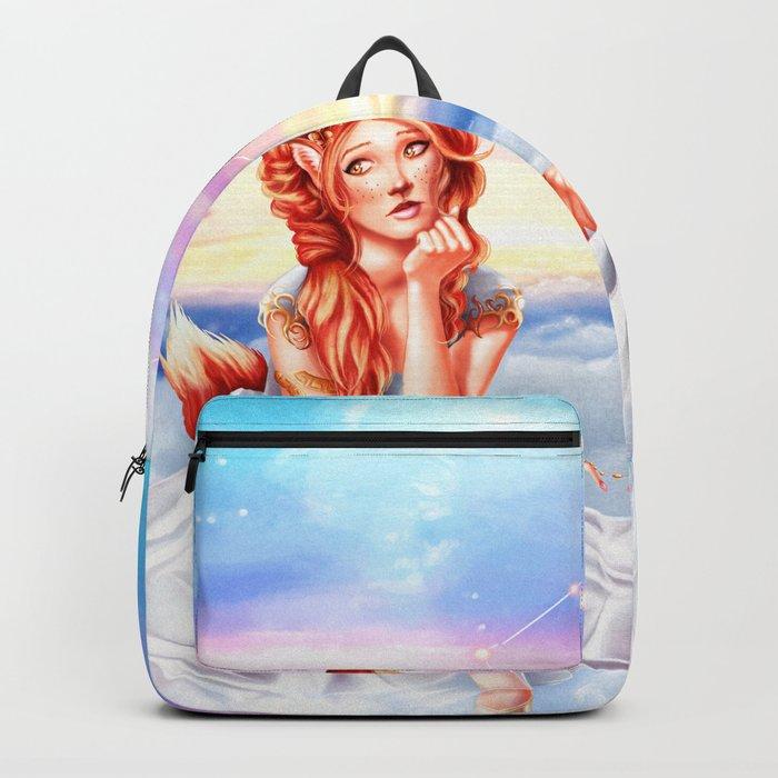 Gemini OC - 12 Zodiac Ladies Backpack