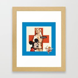 Censored Framed Art Print