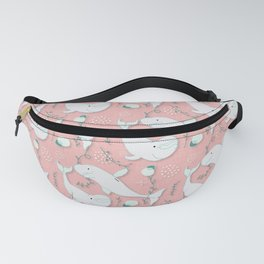 Beluga Whale Pink #homedecor Fanny Pack
