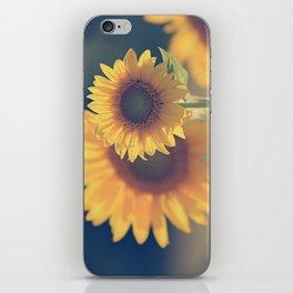 Sunflower 02 iPhone Skin