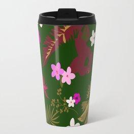 Tropical Flower Background XIII Travel Mug