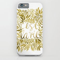 That's Life – Gold on Gold iPhone 6 Slim Case