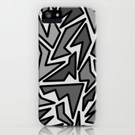 JIG JAG iPhone Case