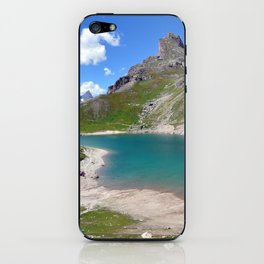 Alpine Blue iPhone Skin