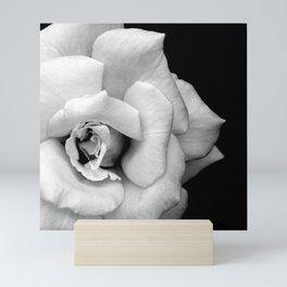 Rose Monochrome Mini Art Print