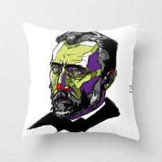 V. Van Gogh Throw Pillow