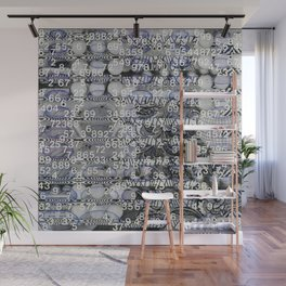 Post Digital Tendencies Emerge (P/D3 Glitch Collage Studies) Wall Mural