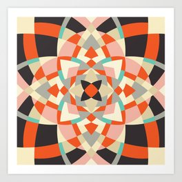 Southwest Quilt #1 Art Print