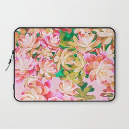 Cactus Fall - Pink and Green Laptop Sleeve