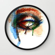 Watercolor Eye Wall Clock