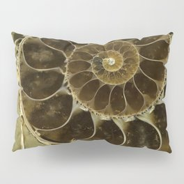 Fossil in brown tones Pillow Sham