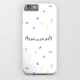 Yoga is a way of life iPhone Case