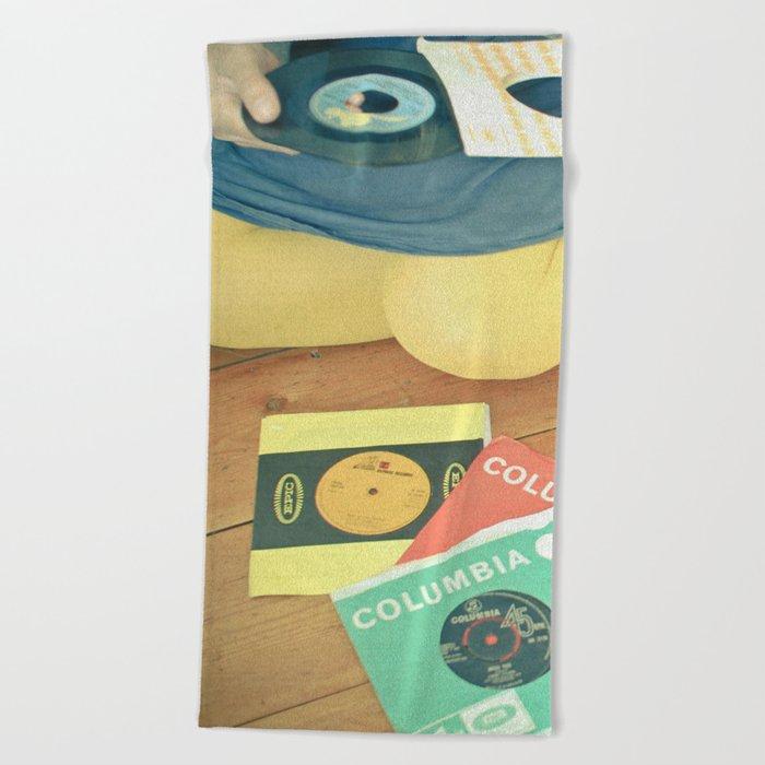 Vinyl Beach Towel