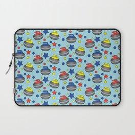 Curling Stone Print Laptop Sleeve