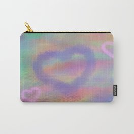 Fuzzy Love Carry-All Pouch