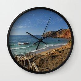 Praia do Amado, Portugal Wall Clock