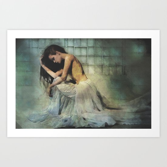 Lacuna Art Print