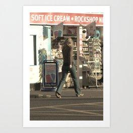 Soft ice cream Art Print