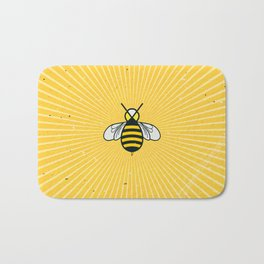 Don t worry – Bee happy – A Hell Songbook Edition Bath Mat