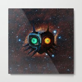 MASK OF MAJORA Metal Print