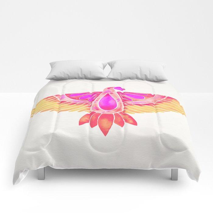 Parrot – Melon Ombré Comforters