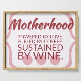 Motherhood Serving Tray