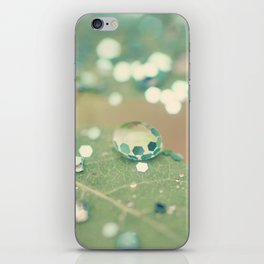 Playing in the Rain iPhone Skin