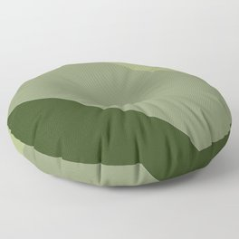 Pine Moss Sage Diagonal  Floor Pillow