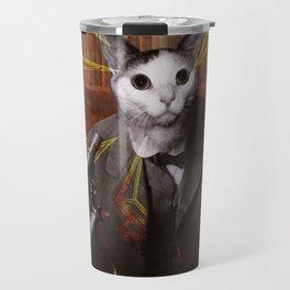 Science Cat Travel Mug