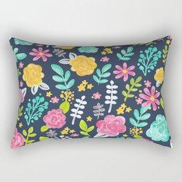 Annabelle Floral Rectangular Pillow