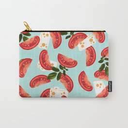 Caprese #society6 #decor #pattern Carry-All Pouch