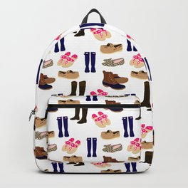 Preppy Shoes Backpack