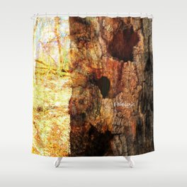 A Giving Tree Shower Curtain