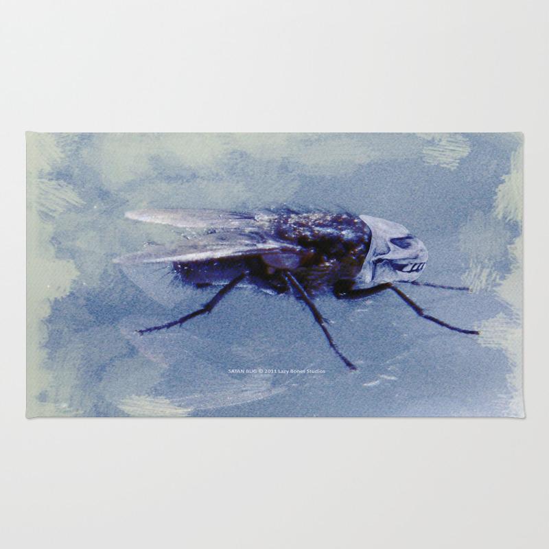 Satan Bug 005 Rug by Lazybonesstudios RUG813158
