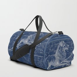 Leo sky star map Duffle Bag