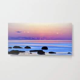 Remembering the Sunset Metal Print