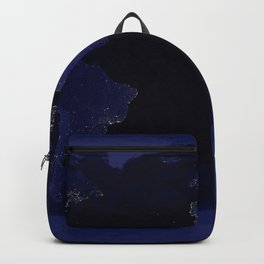 Planet Earth at Night from Orbit Backpack