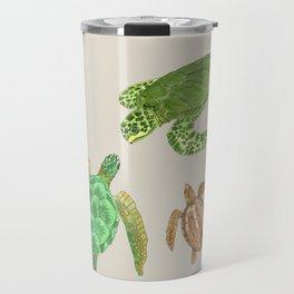 Sea Turtle Types Travel Mug