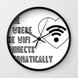 Home is where the Wall Clock
