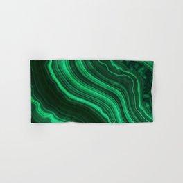 Malachite Texture 08 Hand & Bath Towel