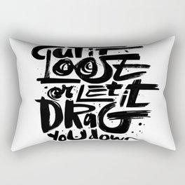 Cut Loose Rectangular Pillow
