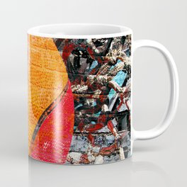 Basketball art swoosh vs 15 Coffee Mug