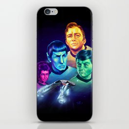 The Final Frontier iPhone Skin