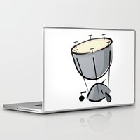 drum Laptop & iPad Skins featuring Timpani Drum by shopaholic chick