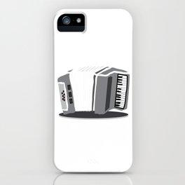 Accordion Aerophone Harmonica Wind Instruments Musicians Gift iPhone Case