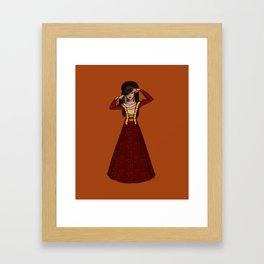 Anne of Clèves - fourth Henri VIII wife Framed Art Print